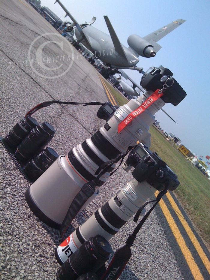 airshow gear with copyright