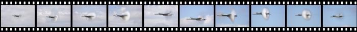 WOH17 Super Hornet high speed pass film strip