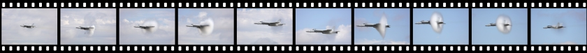WOH17 Super Hornet high speed pass film strip