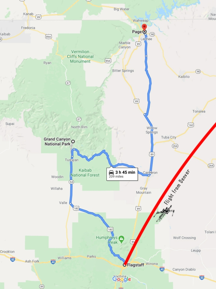 my route on friday